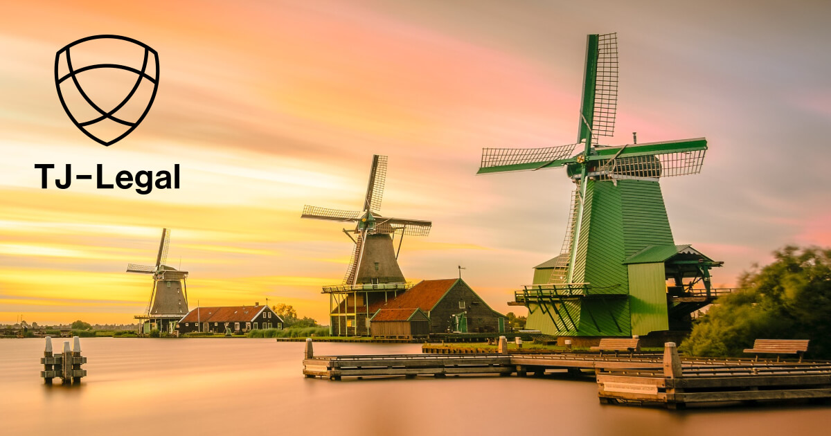 Větrné mlýny v Holandsku