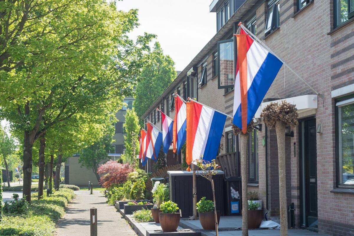 holandské vlajky