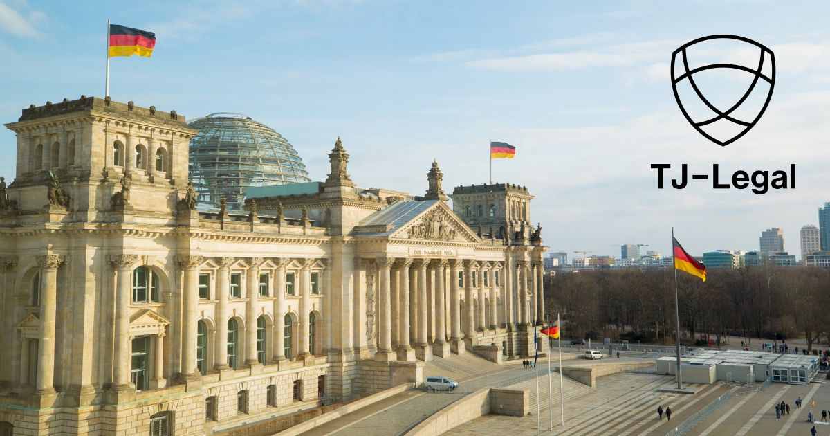 budova Ríšskeho sněmu v Německu